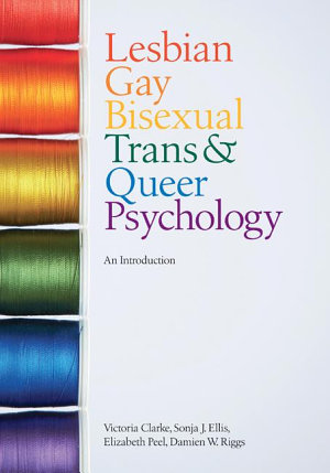 Lesbian  Gay  Bisexual  Trans and Queer Psychology PDF