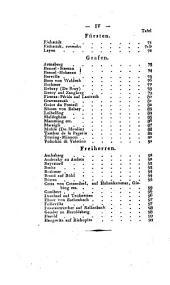 Wappenbuch des gesammten Adels des Königreichs Baiern: Band 9