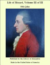 Life of Mozart, Volume III of III