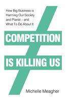 Competition is Killing Us PDF