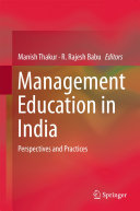 Management Education in India