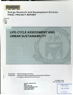 Life cycle Assessment and Urban Sustainability PDF
