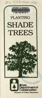 Planting Shade Trees PDF