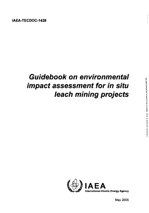 Guidebook on Environmental Impact Assessment for in Situ Leach Mining Projects PDF
