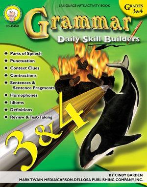 Grammar  Grades 3   4 PDF