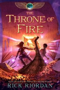 The Throne of Fire Book