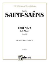 Trio No. 2, Opus 92: For Violin, Viola and Cello