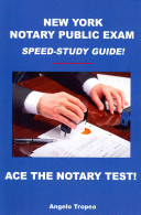 New York Notary Public Exam Speed Study Guide