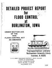 Burlington Local Flood Protection Project: Environmental Impact Statement