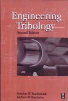 Engineering Tribology PDF