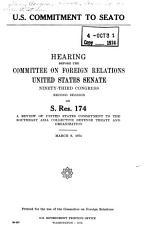 U S  Commitment to SEATO PDF
