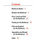 Betty Crocker's Barbecue Cookbook