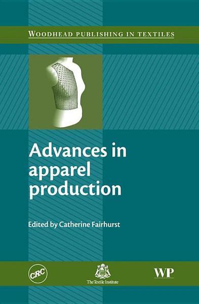 Advances In Apparel Production