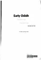 Early Childhood Development and Education PDF