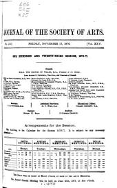 Journal of the Royal Society of Arts: Volume 25