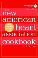 The New American Heart Association Cookbook  7th Edition PDF