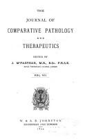 Journal of Comparative Pathology and Therapeutics PDF