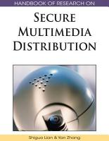 Handbook of Research on Secure Multimedia Distribution PDF