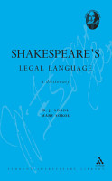 Shakespeare s Legal Language PDF
