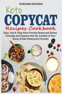 Keto Copycat Recipes Cookbook PDF
