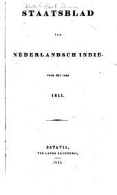 Staatsblad van Nederlandsch Indië: Volumes 1841-1842