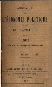 Annuaire de l'économie politique et de la statistique: Volume19