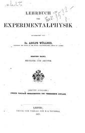 Lehrbuch der Experimentalphysik: 1: Mechanik und Akustik, Band 1