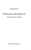 Hollywoods moderner  Film noir  PDF