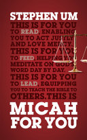 MICAH FOR YOU