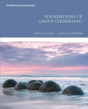 Foundations of Group Counseling Book