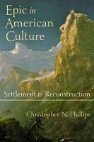 Epic in American Culture PDF