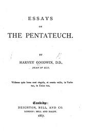 Essays on the Pentateuch
