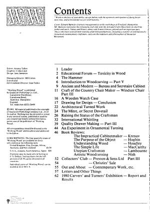 Working Wood PDF