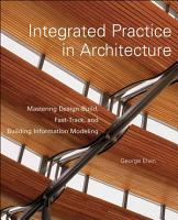 Integrated Practice in Architecture PDF