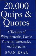 20,000 Quips & Quotes