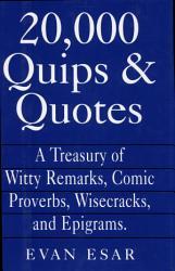 20 000 Quips   Quotes PDF
