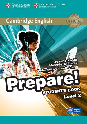 Cambridge English Prepare  Level 2 Student s Book
