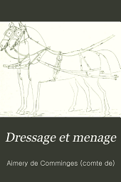 Dressage et menage: Dessins de Crafty