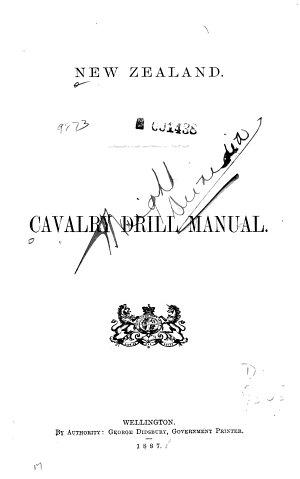 Cavalry Drill Manual