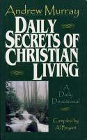 Daily Secrets of Christian Living PDF