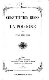La constitution russe et la Pologne
