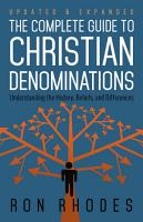 The Complete Guide to Christian Denominations PDF