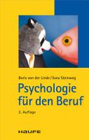 Psychologie f  r den Beruf PDF