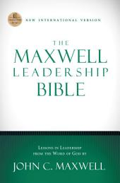 NIV, The Maxwell Leadership Bible, eBook
