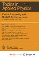 Picture Processing and Digital Filtering