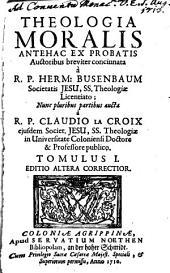 Theologia moralis: Volume 1