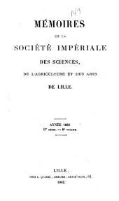 Mémoires ...