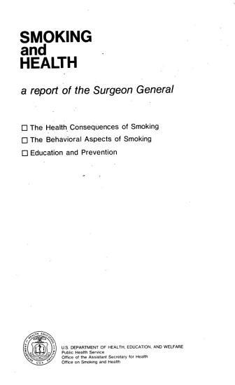 Smoking and Health PDF