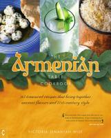 The Armenian Table Cookbook PDF