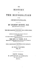 The History of the Reformation of the Church of England: Volume 4
